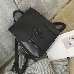 Hase Babe - Faux Leather Backpack