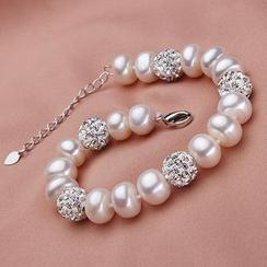 微微珍珠 - 淡水珍珠手鐲