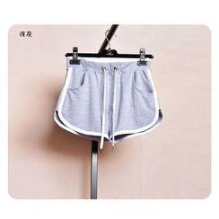 Kiyoko - Piped Sweat Shorts