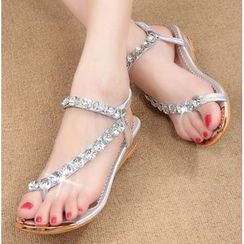 BAYO - Rhinestone Sandals