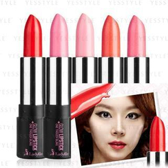 LadyKin - One Touch Bling Glow Lipstick (#01 Red Rose Wine)