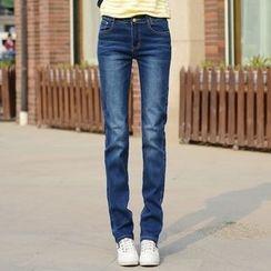 Denimot - Straight-Cut Jeans