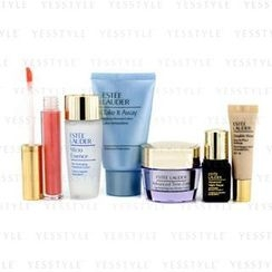 Estee Lauder - Travel Set: Makeup Remover 30ml + Micro Essence 30ml + Advanced Time Zone Cream 15ml + ANR II 7ml + Makeup #36 + Lipgloss #09