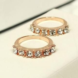 TAIPEI STAR - Rhinestone Ring