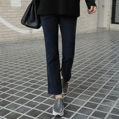 CLICK - Elastic-Waist Jeans