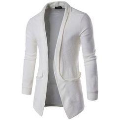 Fireon - 纯色长款开衫