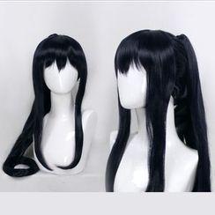 Ghost Cos Wigs - D Gray Man Yu Kanda Cosplay Costume