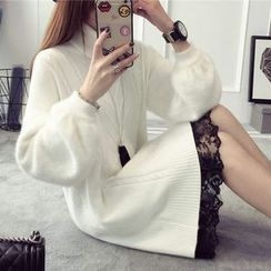 FR - Turtleneck Chunky Sweater