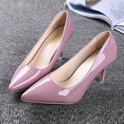 Zandy Shoes - Patent Stiletto