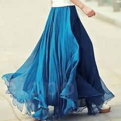 Ashlee - Chiffon Maxi Skirt