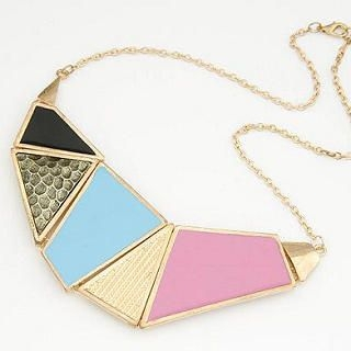 Cuteberry - Color-Block Necklace
