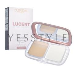 L'Oreal - Lucent Magique Skin Luminating Tri-Powder Foundation SPF 19 PA+++ #R1 Rose Sand