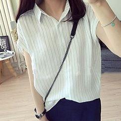 Frontline - 条纹短袖衬衫