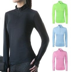 LAVIE.Q - Long Sleeve Half Zip Sports Top