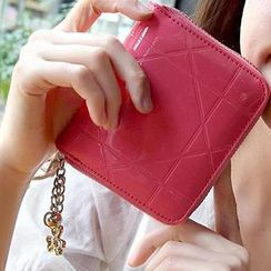 SUOAI - Patent Faux-Leather Wallet