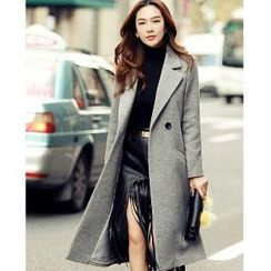 Romantica - Double-Button Long Coat