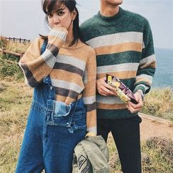 子俊 - 條紋毛衣