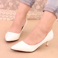 IYATO - Pointy-Toe Kitten Heels