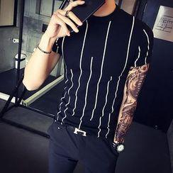 Harvin - Striped Short Sleeve T-Shirt
