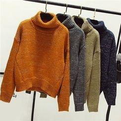 Honey House - Turtleneck Chunky Sweater