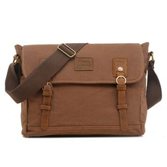 AUGUR - Canvas Messenger Bag