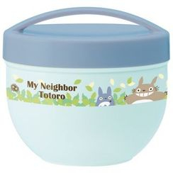 Skater - My Neighbor Totoro Bowl Lunch Box Ladies (Blue)