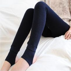 Kleggings - Fleece-Lined Stirrup Leggings