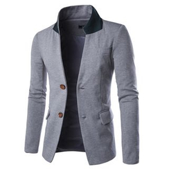 Hansel - Plain Slim Fit Blazer