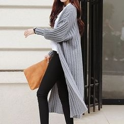 Ashlee - Drop Shoulder Long Cardigan