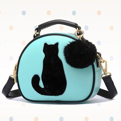 BeiBaoBao - Cat-Accent Satchel
