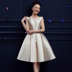Shannair - Sleeveless A-Line Cocktail Dress