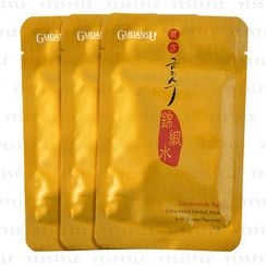 GMDANSU - Ginsenoside Rg1 Ultra-Moist Herbal Mask (with Sheep Placenta)