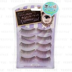 LUCKY TRENDY - Dream Girl Brow and Black Eyelash #983