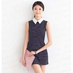 SO Central - Striped Sleeveless Dress