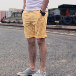 YIDESIMPLE - Gingham Shorts