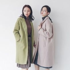 Porta - Mock Two-piece Lapel Coat