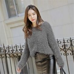 TOM & RABBIT - Loose-Fit Furry-Knit Top