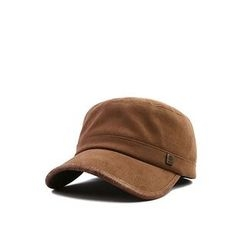 Ohkkage - Faux-Suede Military Cap