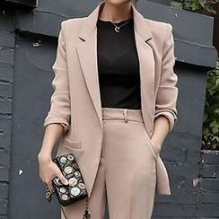 Queen Bee - Set: One Button Blazer + Dress Pants
