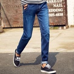 HANDA - 錐形牛仔褲