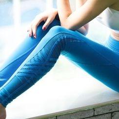 G.LIMITROCK - Paneled Sport Pants