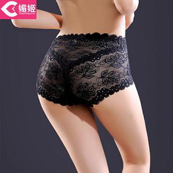 Charming Lover - High-Waist Lace Panties