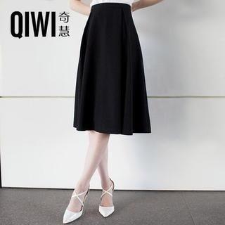 QIWI - A-Line Midi Skirt