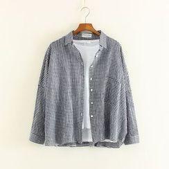 Mushi - Gingham Jacket