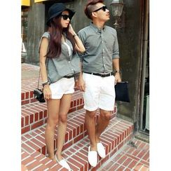 Lovebirds - Plain Couple Shirt