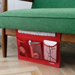 Hagodate - 創意設計桌櫃沙發床邊收納袋-iPad-雜志雜物收納插袋