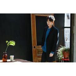 SCOU - Notched-Lapel Single-Breasted Coat