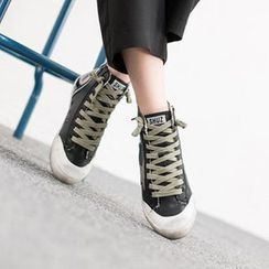 VIVIER - Lace-Up High-Top Sneakers