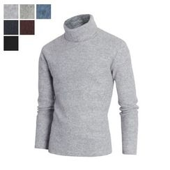 DANGOON - Turtle-Neck Colored Brushed-Fleece Top