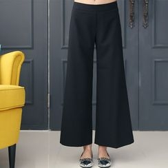 DANI LOVE - Zip-Side Wide-Leg Pants